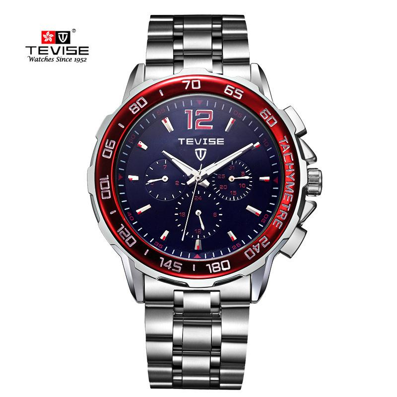 Tevise  Men Automatic Mechanical Watch Man Fashion Waterproof Wristwatch Male Clock Relogio Masculino Montre Homme 2018 New