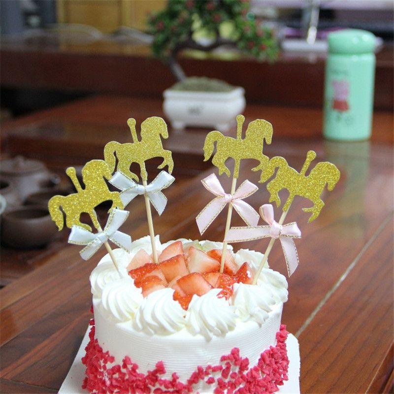 Pleasing 2020 Horse Happy Birthday Cake Toppers Decoration Kids Birthday Personalised Birthday Cards Xaembasilily Jamesorg