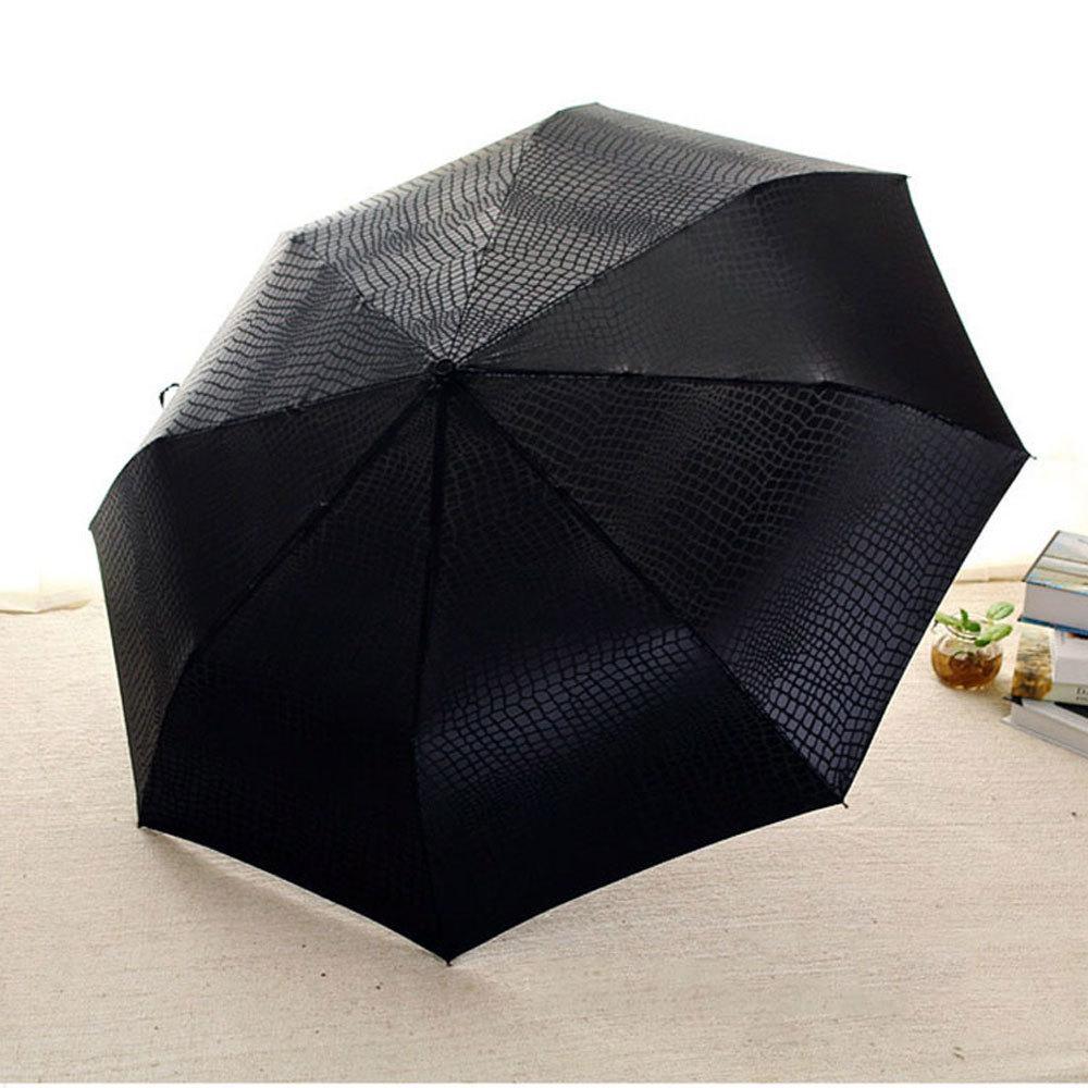 De haute qualité en cuir résistant imitation parapluie pluie femmes automatique large coupe-vent Hommes d'affaires Para Car Umbrella