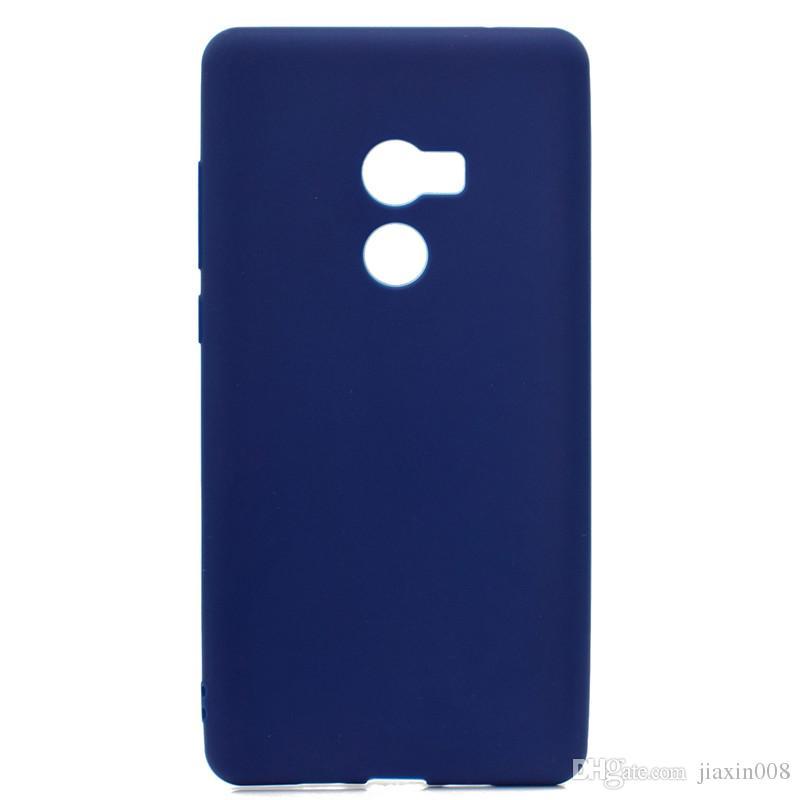 Şeker Renk Kapak Için Xiaomi Mi Mix 2 Mi Mix2 Durumda Yumuşak TPU Ultrathin Tasarımcı Mobie Telefon Kılıfları Capinha
