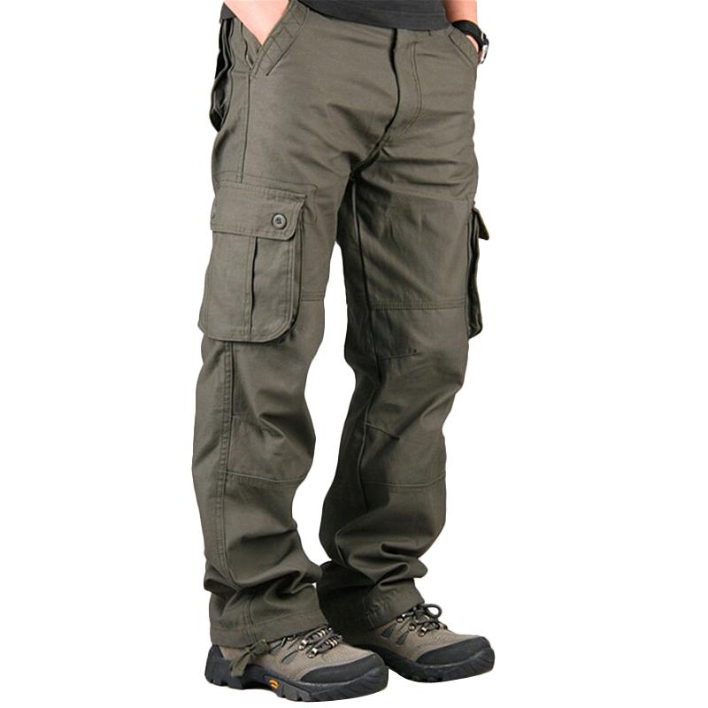 2021 Pants Mens Cargo Pants Casual Mens Pant Multi Pocket Military Overall  Men Outdoors High Quality Long Trousers Plus Size 30 40 From Herish, $38.77  | DHgate.Com