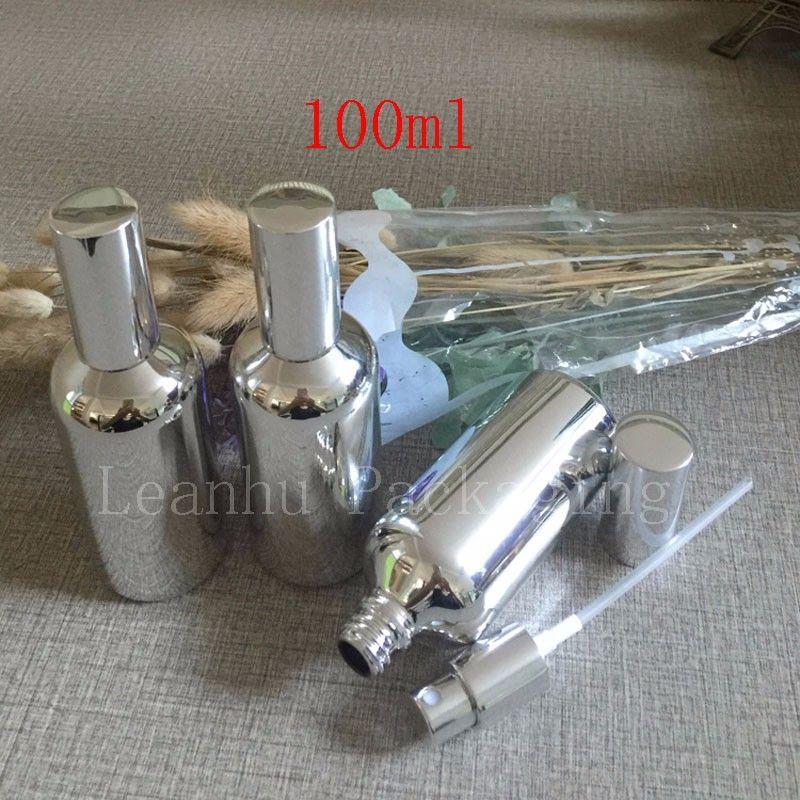 100ml silver bottle with sprayer
