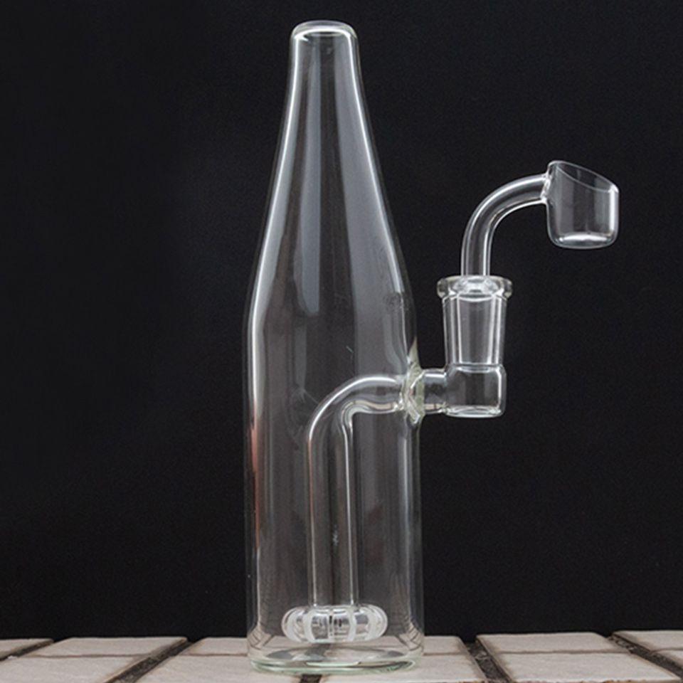 Hookahs Beaker Bong Glass Water Bongs Joint 14.5mm Bubbler Dab Rig para fumar