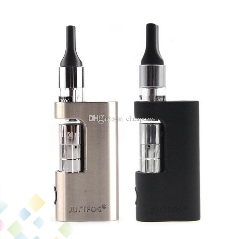 Authentic Justfog C14 Compact Kit 900mAh Battery 1.8ml Ego 510 Thread Clearomizer 1.6ohm Coil Electronic Cigarette DHL Free
