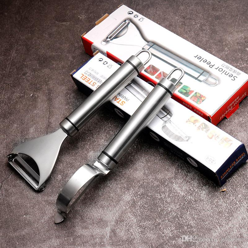 74 г новый 304 из нержавеющей стали многофункциональный овощной картофелечистка яблоко овощечистка кухонные инструменты легко чистить