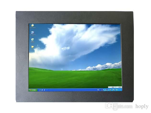 10.4 inch Input VGA HDMI VEDIO SKD Open Frame Monitor with Touch Screen , Metal Cover Industrial PC Monitor Car PC Display
