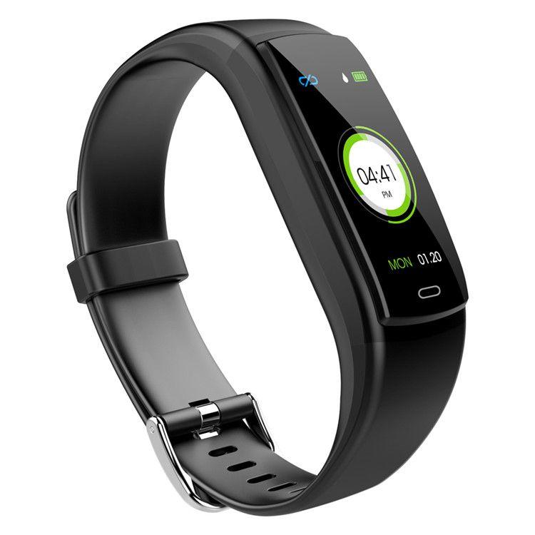 Y9 Smart Watch Blutdruck Herzfrequenzmesser Fitness Tracker intelligente Armbanduhr wasserdichte intelligente Armband für iPhone und Android Phone Watch