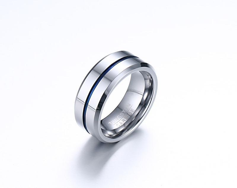 Karışık sipariş sevgililer Günü hediyesi erkek tungsten karbür yüzük tungsten yüzük el takılar parmak yüzük tedarikçi mücevher fabrikası tedarikçisi 039
