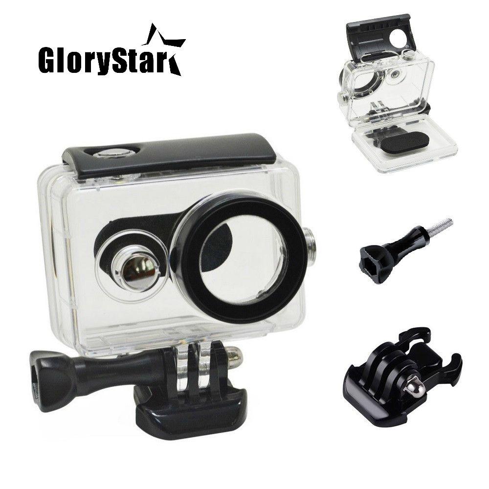 GloryStar 45M Underwater Diving Waterproof Case for Xiaomi Yi Sports Waterproof Box for Xiaomi yi Action camera Protective 76