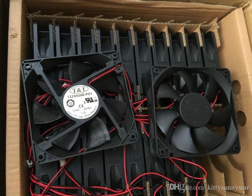 ZYVPEE 12025 1225H24B-PD1 24V 0.4A 2ワイヤ1225H24B TTインバータファン