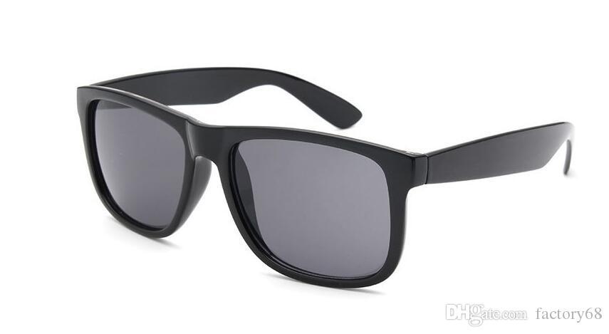 4165 degrade güneş gözlüğü erkekler kadınlar retro konfor basit Renkli film ayna yüzeyi Polarize UV400 Güneş Gözlükleri