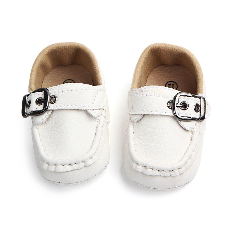 Baby Anti-slip First Walkers Shoes Kids PU Prewalker Sneakers Infant Prewalker Boys shoes 0-18m