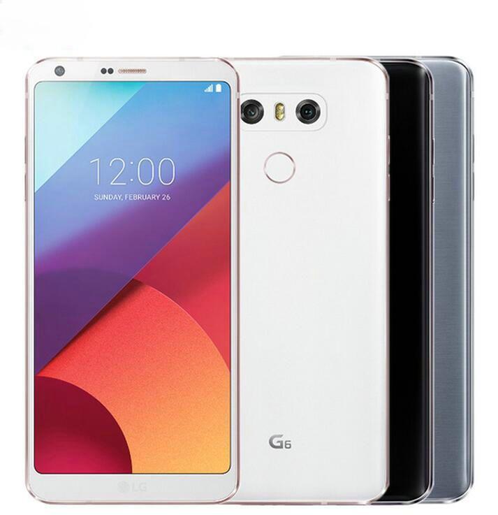 الأصلي LG G6 VS988 H873 H871 5.7 بوصة رباعية النواة 4GB / 32GB 13MP كاميرا مزدوجة 4G LTE تجديد الهواتف مقفلة