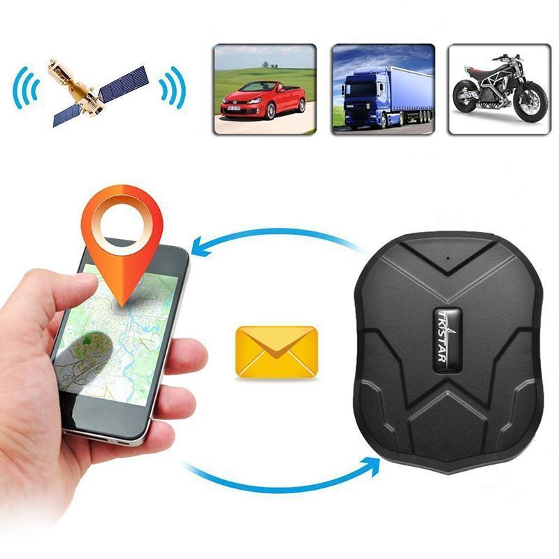 TKSTAR 5000mAh batería de larga duración en espera 120 días TK905 de banda cuádruple GPS del dispositivo impermeable seguimiento en tiempo real del vehículo del coche localizador GPS