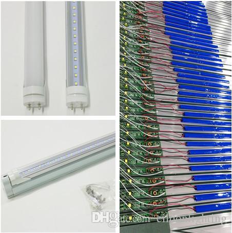 T8 LED Tubes d'urgence 90mins 4ft 2ft 3ft AC85-265V 10-18W G13 Lumières 95Lm 2835SMD la charge de la batterie Blubs Lampes direct de Shenzhen en Chine