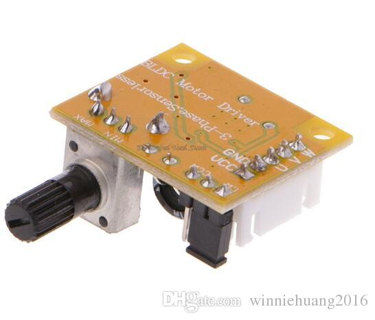 DC 5V-12V 2A 15W Brushless Motor Speed Controller No Hall BLDC Board module
