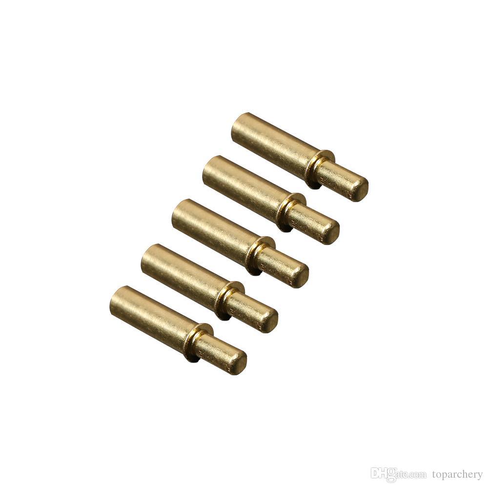 36 pièces 4.2mm diamètre acier inoxydable anti-grève clou tir à l'arc flèche accessoires prolonge flèche durée de vie