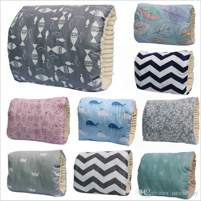 Baby Nursing Pillows Plush Soft Breast Pillows Cotton Breast-feeding Pillow Toddler Pregnancy Maternity Cartoon Arms Pillows Cushion B3803