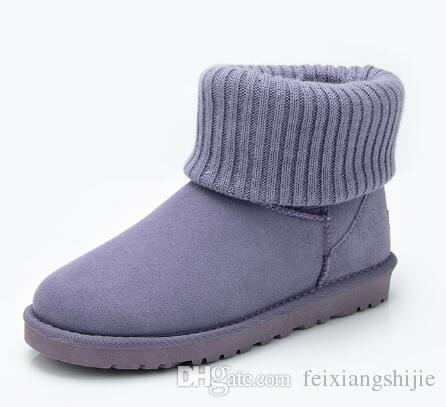 2018 SıCAK SATıŞ WGG kadın Klasik uzun Çizmeler Womens boot Boot Kar botları Kış çizmeler deri çizme sertifikası toz torbası damla nakliye