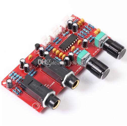 Free shipping! 1pc PT2399 NE5532 Microphone Amplifier Reverberation Volume Adjustable Board Module Rotary Knobs New in High Quality