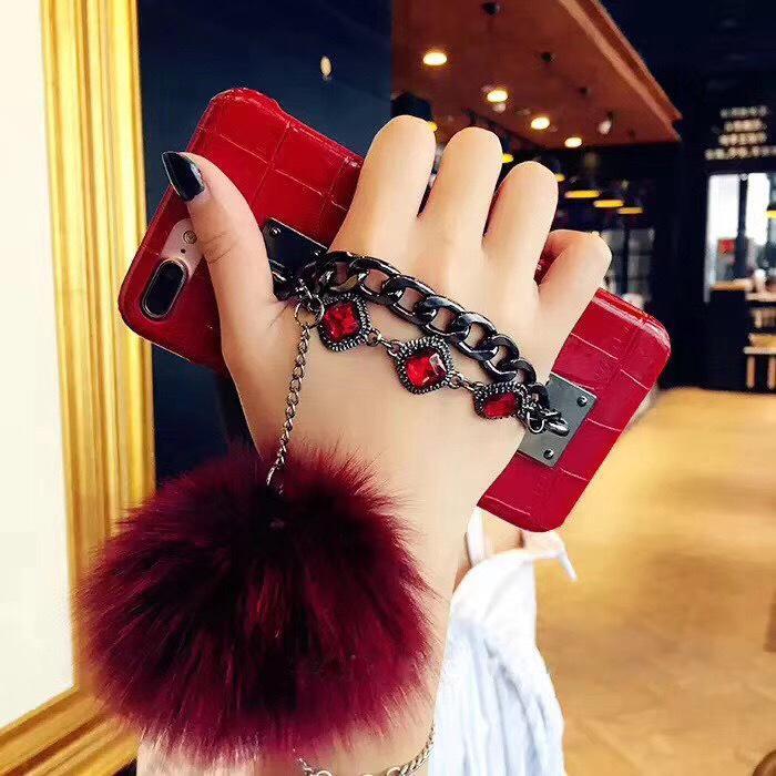 المرأة حالة الهاتف الموضة الجديدة لفون X 6 / 6S 6plus / 6S زائد 7/8 7plus / 8plus XS XR XSMAX مع الماس قطرة حماية الهاتف المحمول حالة