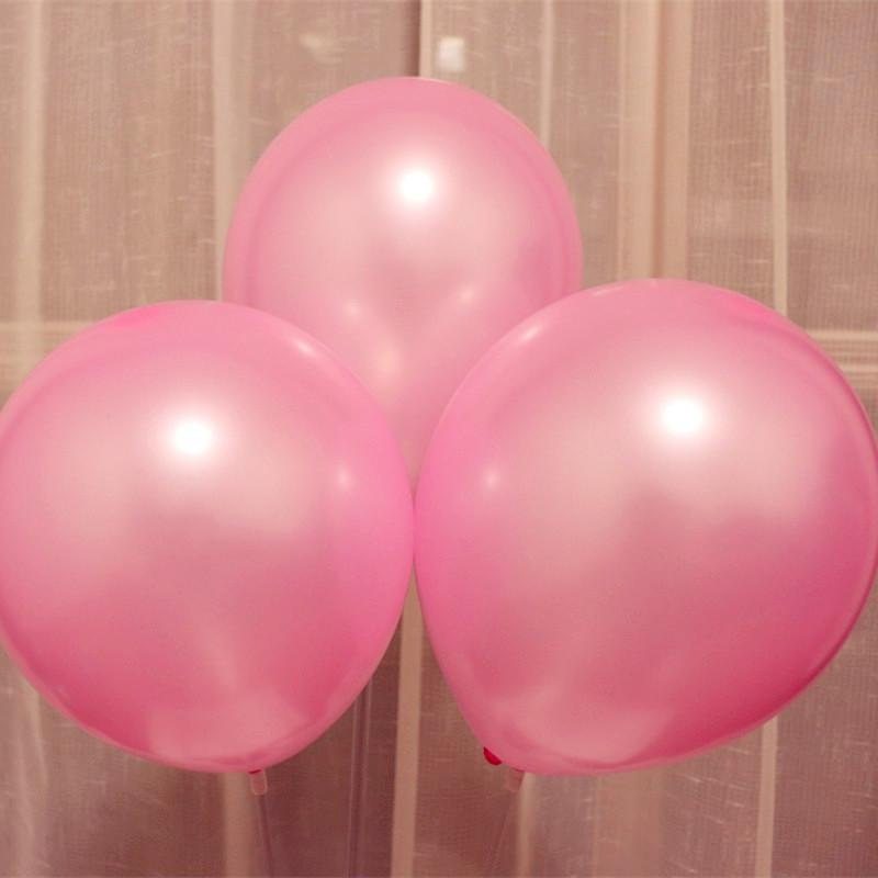 Supply air ball 100pcs/lot pink latex balloon 1.5g 10 inch adult decorations helium ballons birthday party balloons wedding