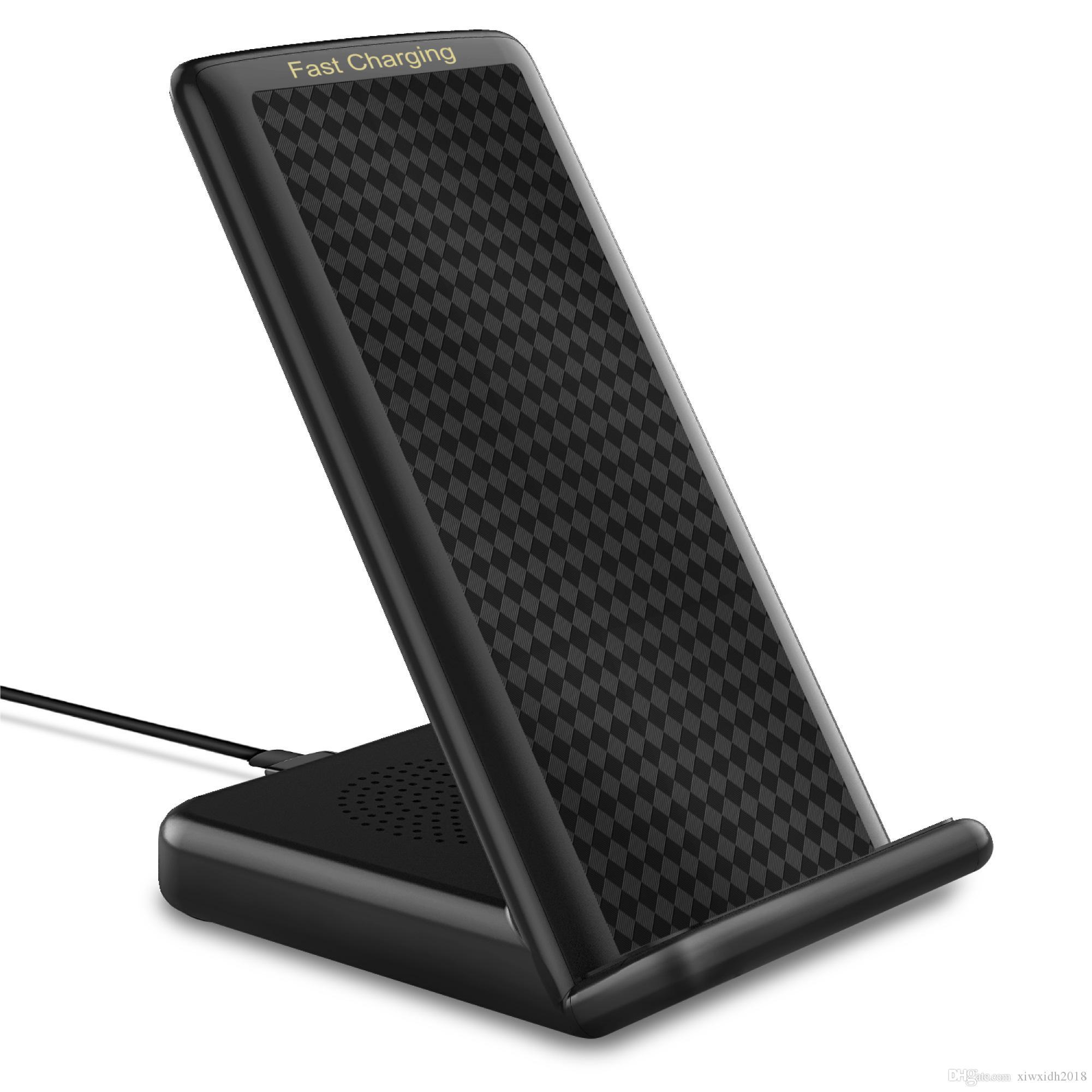 빠른 무선 충전기 무선 충전 대 아이폰 X 아이폰 8 아이폰 8 플러스, 삼성 Note8 S8 S8 Plus S7 S7 Edge 용