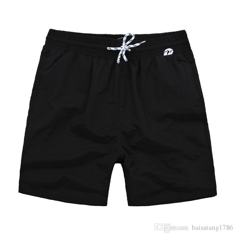 Use pantalones cortos del verano de los hombres del traje de baño de nylon Marca Ropa Hombre Marca shorts de playa Pequeño caballo Swim Shorts Junta
