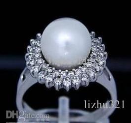 Natural Tahitian Black Pearl Ring fijne sieraden