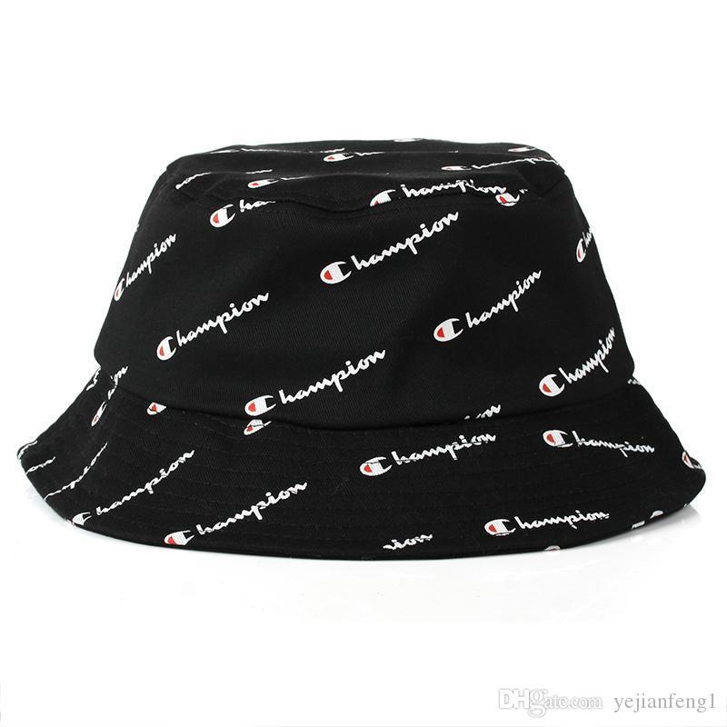 2018 حار أزياء الرجال النساء الساخنة بطل دلو قبعة ماركة boonie قبعة للجنسين الصيف شاطئ قبعة شحن مجاني