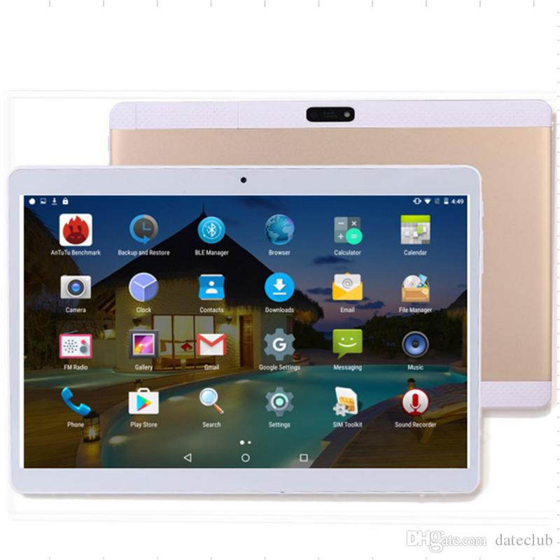 10.1 inch Metal case Tablet android Octa Core RAM 4GB ROM 32GB 1920X1200 IPS Dual sim card 3G Phone Call WIFI GPS