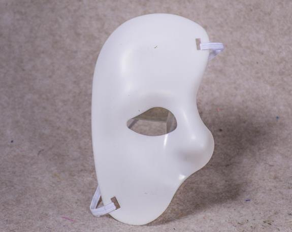 Phantome Masque Blanche Demi-Masque Opéra de L/'Opéra Bal Carnaval