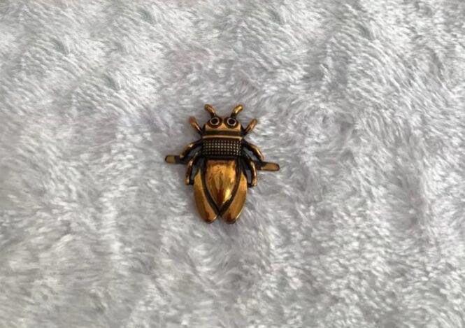 12 adet / grup Bagaj ve çanta donanım aksesuarları yeni vintage stil böcekler Donanım dekoratif kapat