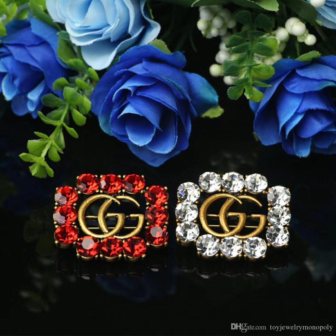Novas roupas femininas acessórios de jóias flor broche bonito requintado liga de gotejamento broche local atacado