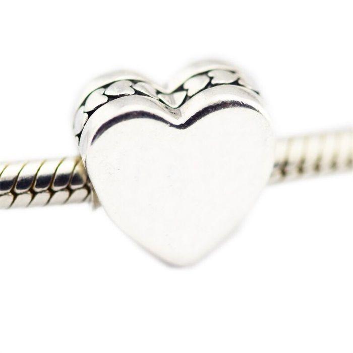 pandora charms cuore argento
