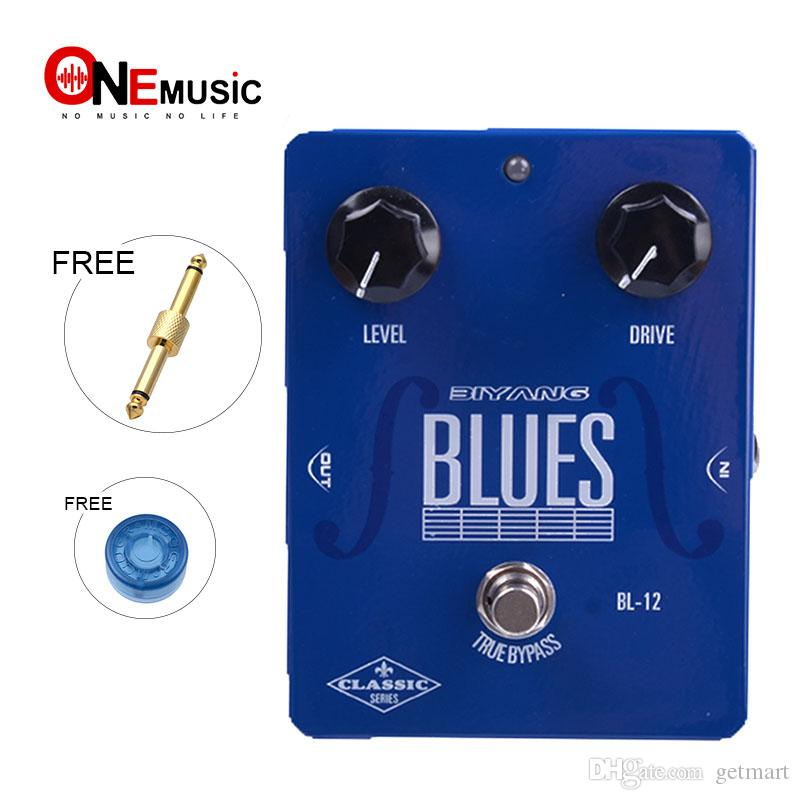 Biyang Classic Series BL-12 Blues Overdrive Effect Pedal True Bypass