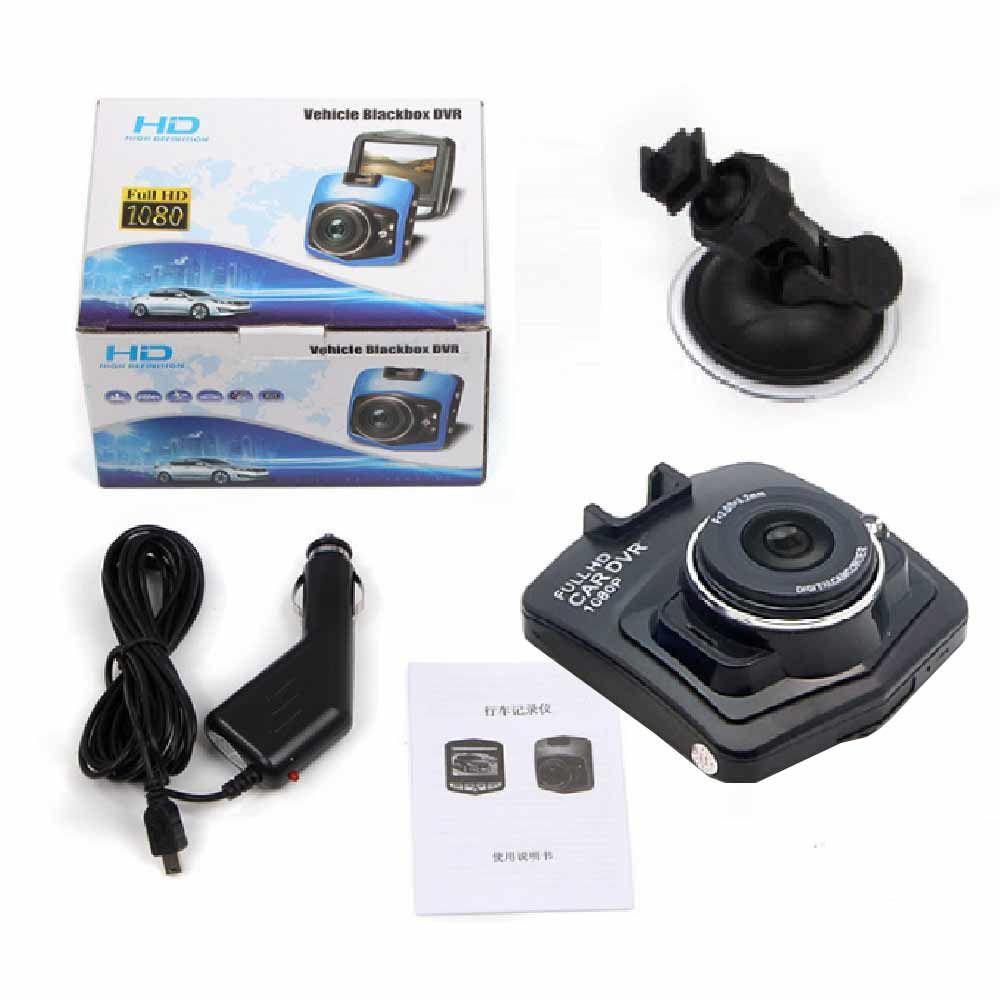 2017 핫 미니 자동차 DVR 카메라 대시 캠 레코더 비디오 등록 기관 야간 시계 블랙 박스 Carcam G- 센서 대시 캠 무료 배송