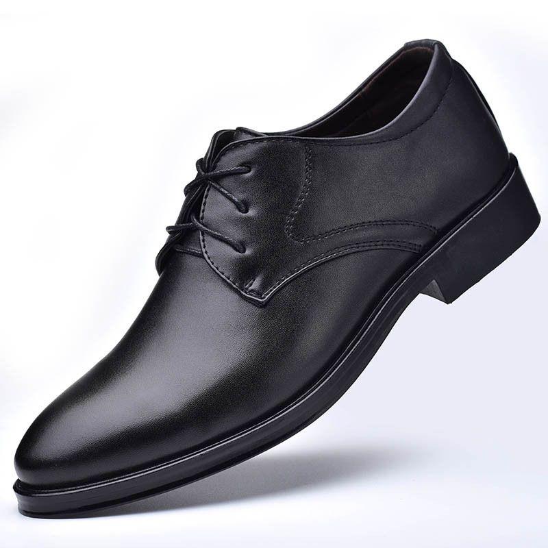 Men Formal Shoes Leather Men Wedding