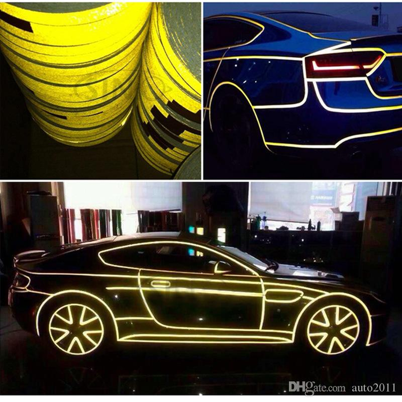 5 m Reflective Tape for Car Decoration School bus safety identification Motorcycle Body Stickers Warning Bars