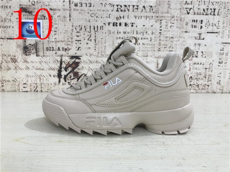 Acheter 2018 FILA Destroyer II Muffin En Dent De Scie Tricoté Hommes Chaussures De Course Femmes Athletic Sports Corss Randonnée Jogging Designer