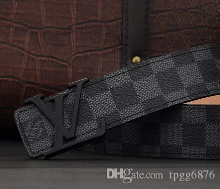 new b2019 Fashion Belt Leathers Men Belt Good quality Smooth Buckle Mens Belts For Women Belt Jeans Strap
