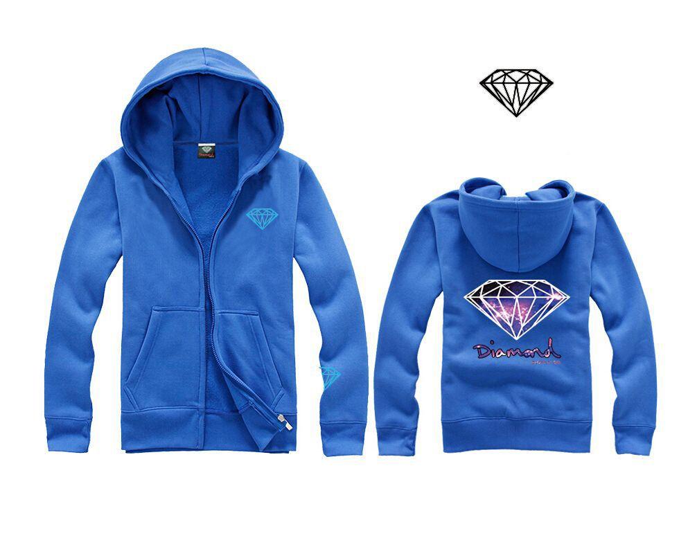 Diamante camisola amante Primavera Matching Couple diamante Supply Co Hoodie Além disso 3XL Diamante Crewneck capuz Hoodies H15