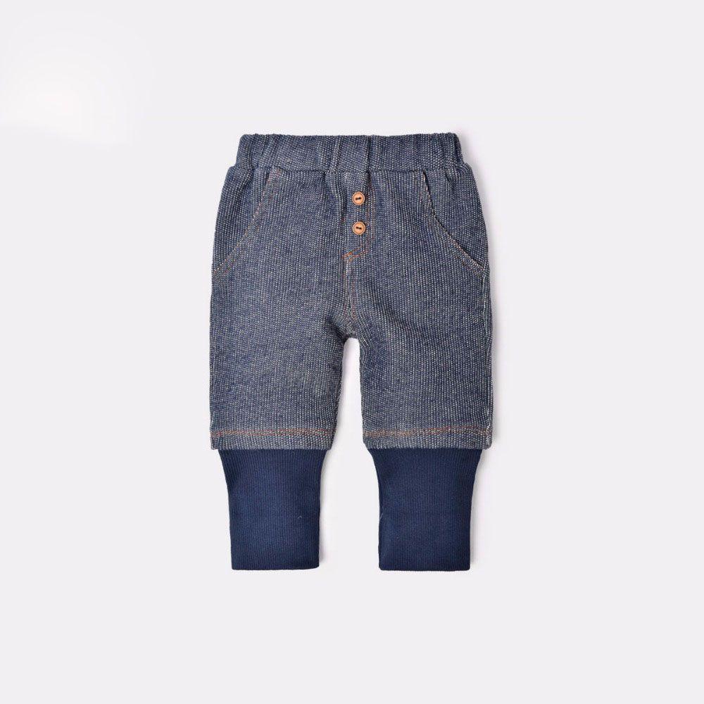 Dinstry Boys Girls Pants Printemps Automne Enfants imitation jeans bébé Pantalon décontracté