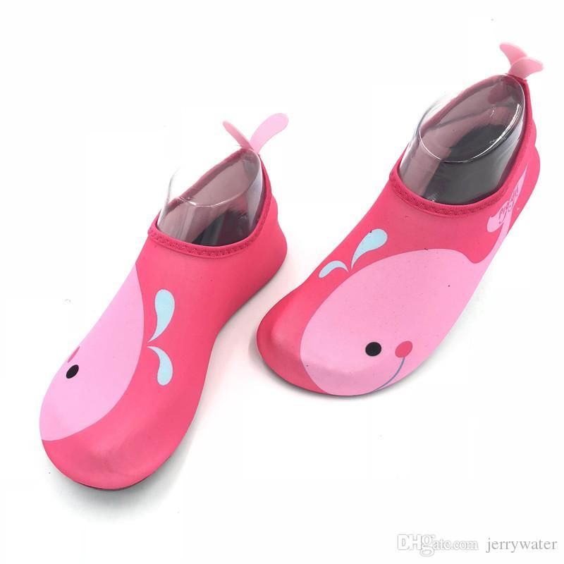 Новый Летний Ребенок Аква Кроссовки Спортивная Обувь Легкий Девочка Мальчик Плавание Пляж Обувь Для Воды Скольжения На Открытом Воздухе Athleti Обувь