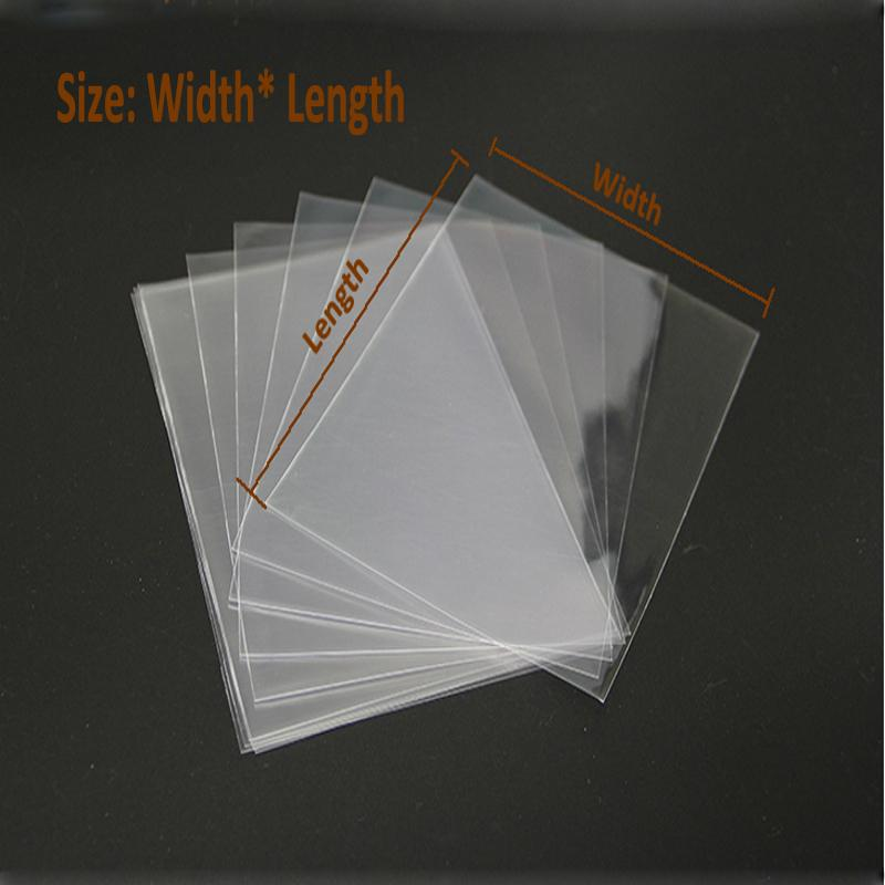 Klare Zellophan-Beutel 100pcs / lot 45x60cm Transparentes Opp Plastikverpackungsbeutelgeschenk bauscht sich flache Verpackung der Süßigkeitswerkzeuge Verpackung