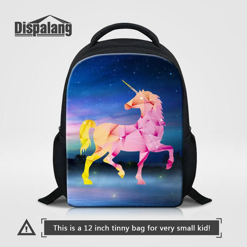 Cute Girls Backpacks Unique Diamond Pattern Unicorn Kids Satchel High Quality Children School Bags Unisex Rucksack Bagpack Sac Drop Shipping