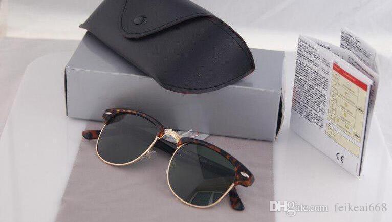 Marka Tasarımcısı Güneş Yüksek Kaliteli Metal Menteşe Güneş Erkekler Gözlük Kadın Güneş gözlükleri UV400 lens Unisex ile Orijinal kılıfları ve kutu