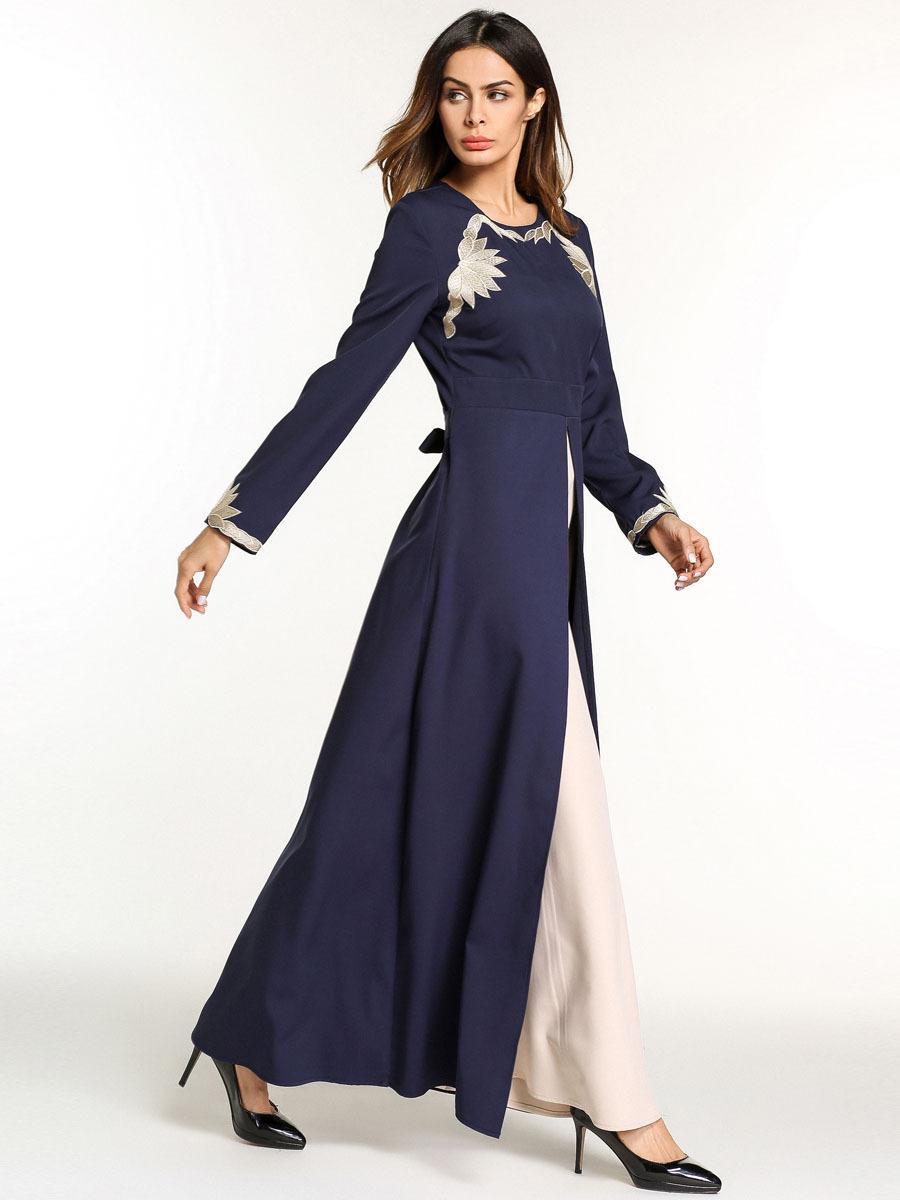 großhandel gefälschte zweiteiliger großes verbreitung besticktes kleid  arabisches abendkleid mittlerer osten gewand jahrgang kleid  mittelalterliches
