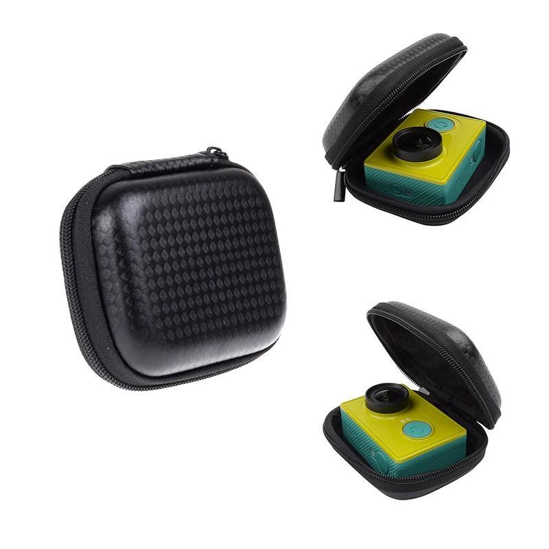 المحمولة صندوق صغير EVA حالة حقيبة لXIAOMI يي 4K لايت من GoPro البطل 6 5 4 اسود H9 عمل الكاميرا للحصول على حالة يي الذهاب برو ملحقات