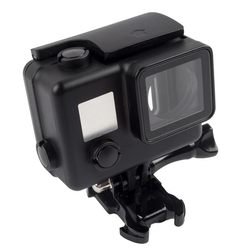 45m Snorkeling Diving Black Waterproof Housing Case Protective Case for Gopro Hero 4/3+